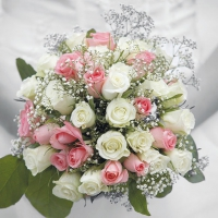 Serviettes lunch Wedding Bouquet