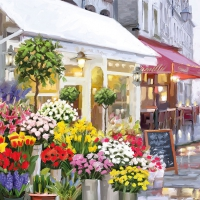 Servilletas Lunch Flower Shop