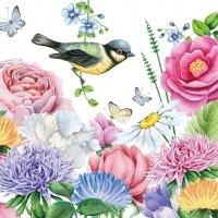Lunch Servietten Watercolor Bird