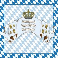 Lunch napkins Königliches Bayern
