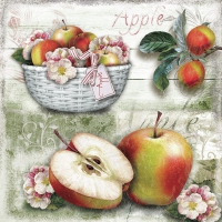 Serviettes lunch Apple Basket
