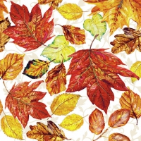 Lunch napkins Leaves