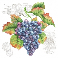 Serviettes lunch Grape Vine