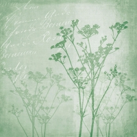 Lunch Servietten Floral Harmony Green