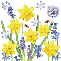 Lunch Servietten Narcissus Love