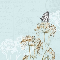 Lunch Servietten Butterfly Branches Blue