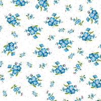 Serviettes lunch Forget Me Not