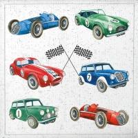Lunch Servietten Classic Cars