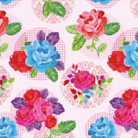 Lunch napkins Modern Rose Pink