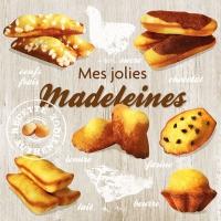Lunch napkins Madeleines