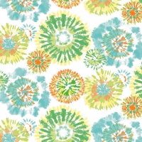 Serviettes lunch Batik Aqua
