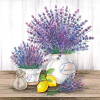Serviettes lunch Lavender