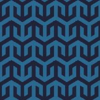 Serviettes de table 33x33 cm - Bleu Alezio