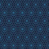 Serviettes de table 33x33 cm - Bleu Bocale