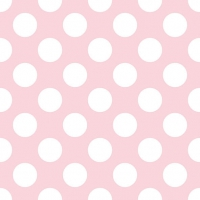 Lunch napkins Big Dots Light Rose