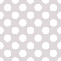 Lunch napkins Big Dots Light Stone