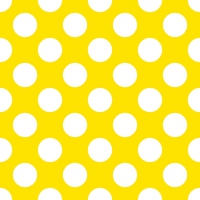 Lunch napkins Big Dots Yellow