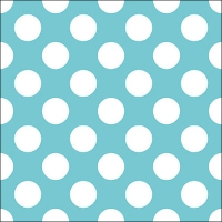 Lunch napkins Big Dots Blue