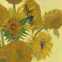 Lunch napkins Van Gogh Sunflower