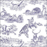 Lunch napkins Woodland Animals