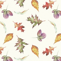 Serviettes lunch Falling Leaves