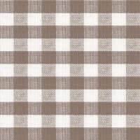 Lunch napkins Square Brown