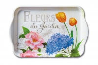 Tray  Fleurs Du Jardin