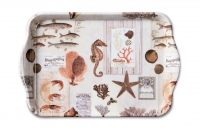 Tray  Sepia Sea Cream