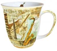 tazza di porcellana Mug 0.4 L Musical Instruments