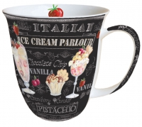 porcelain cup Ice Creme Black