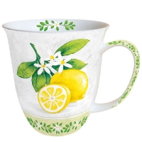 tazza di porcellana Mug 0.4 L Lemon Branche