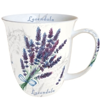 Porzellan-Henkelbecher Mug 0.4 L Lavendula