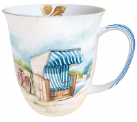 taza de la porcelana Mug 0.4 L Day At Sea