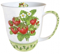 Porzellan-Henkelbecher Mug 0.4 L Season Fruit