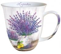 porcelain cup Lavender