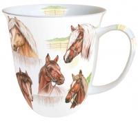 tazza di porcellana Horse Range
