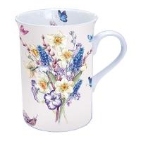 taza de la porcelana Muscari Mix
