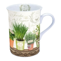 taza de la porcelana Le Jardin De Provence