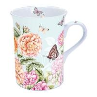 taza de la porcelana Botanical Garden Green