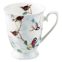 taza de la porcelana Birdsong