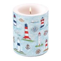 Kerze Maritime Ornaments