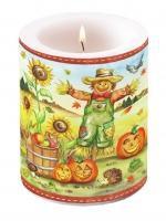 Candles Scarecrow