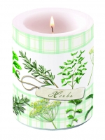 Kerze Herbs