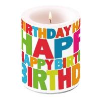 Kerze Birthday
