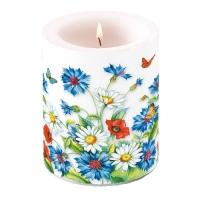 Kerze Cornflower
