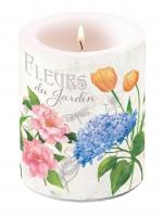 Velas Candle Big Fleurs Du Jardin