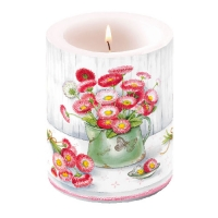 candele Candle Big Bellis In Pot