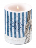 candele Candle Big Compass And Rope