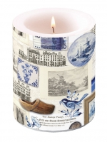Kerze Candle Big Authentic Holland