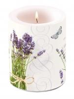 Dekorkerze Bunch Of Lavender